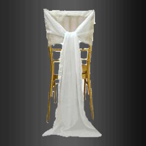 Banda de gasa para silla Tiffany