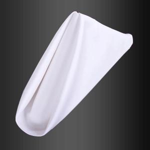 Servilleta de algodón blanco